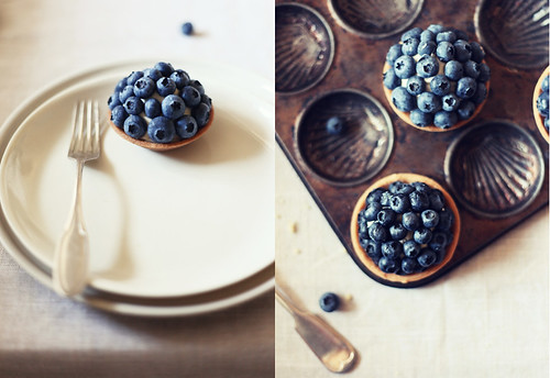 Blueberry & Lavender Tartlet Diptych