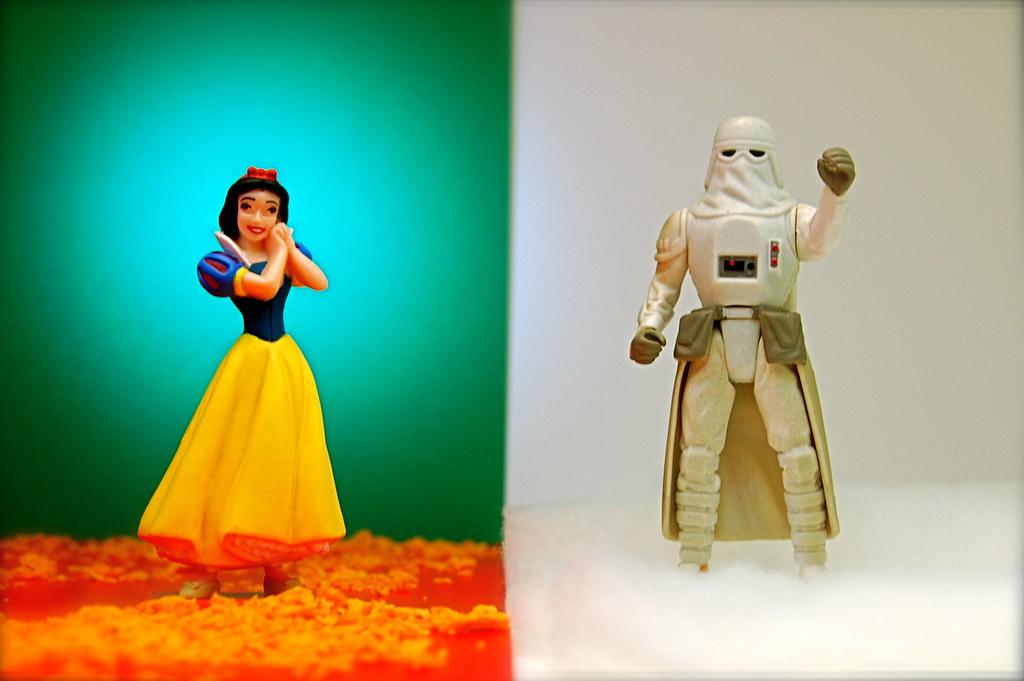 Snow White vs. Snowtrooper (126/365)