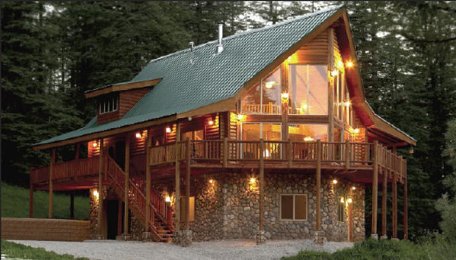 Search our log cabin plan database for log cabin home floorplan