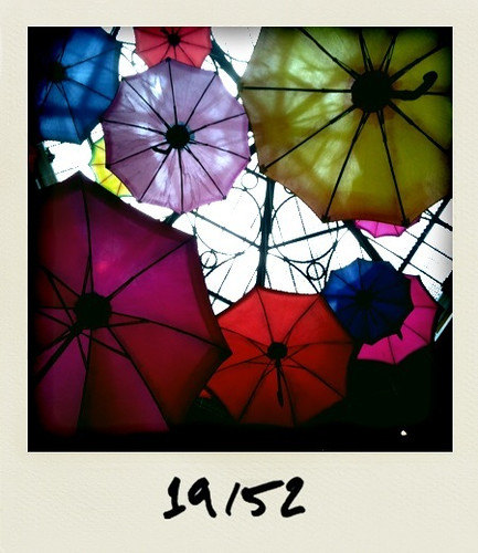 cameraphone blue light red yellow purple lasvegas patterns umbrellas palazzo 1952 iphone fauxlaroid polarize 52weeks