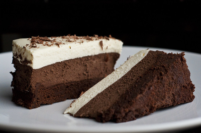 Triple Chocolate Mousse Cake | Flickr - Photo Sharing!