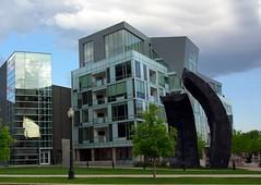 estate(0.0), residential area(0.0), home(0.0), campus(0.0), tower block(1.0), building(1.0), landmark(1.0), architecture(1.0), brutalist architecture(1.0), condominium(1.0), facade(1.0), downtown(1.0), plaza(1.0), neighbourhood(1.0),