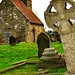 Upleatham Church & Head stone