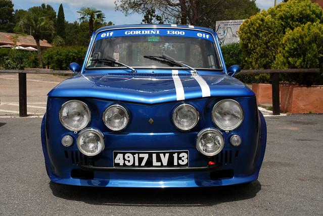 renault 8 gordini circuit le luc 83340 a photo on flickriver. Black Bedroom Furniture Sets. Home Design Ideas