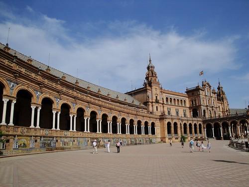 Plaza España, Seville, Spain