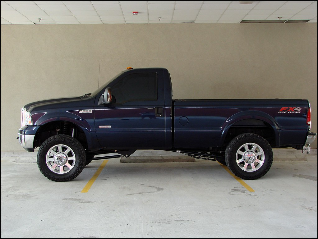 Very Clean Modded 2006 Regular Cab F-250 Fx4 6 0l
