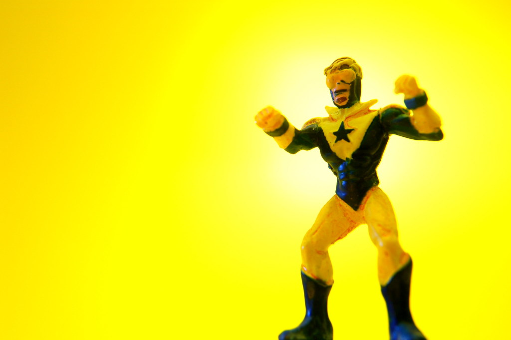 B Is For Booster Gold