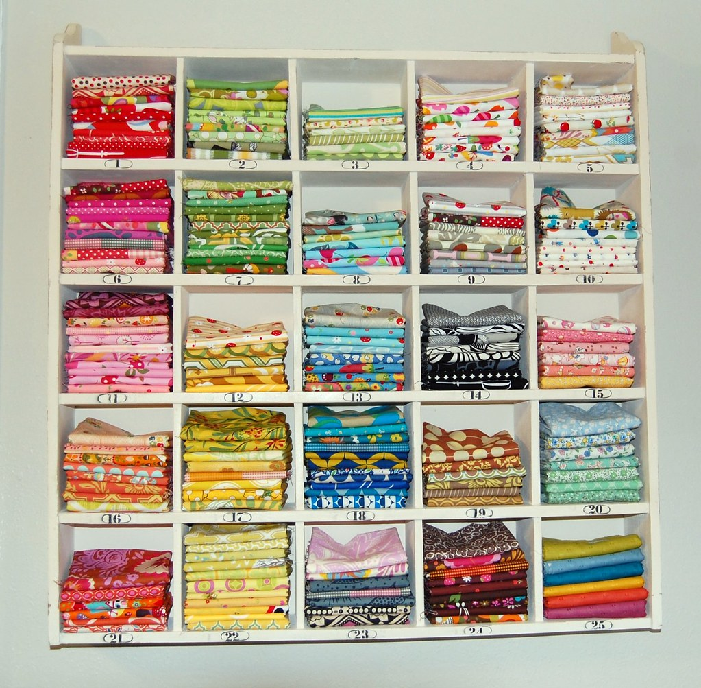 fat quarter storage