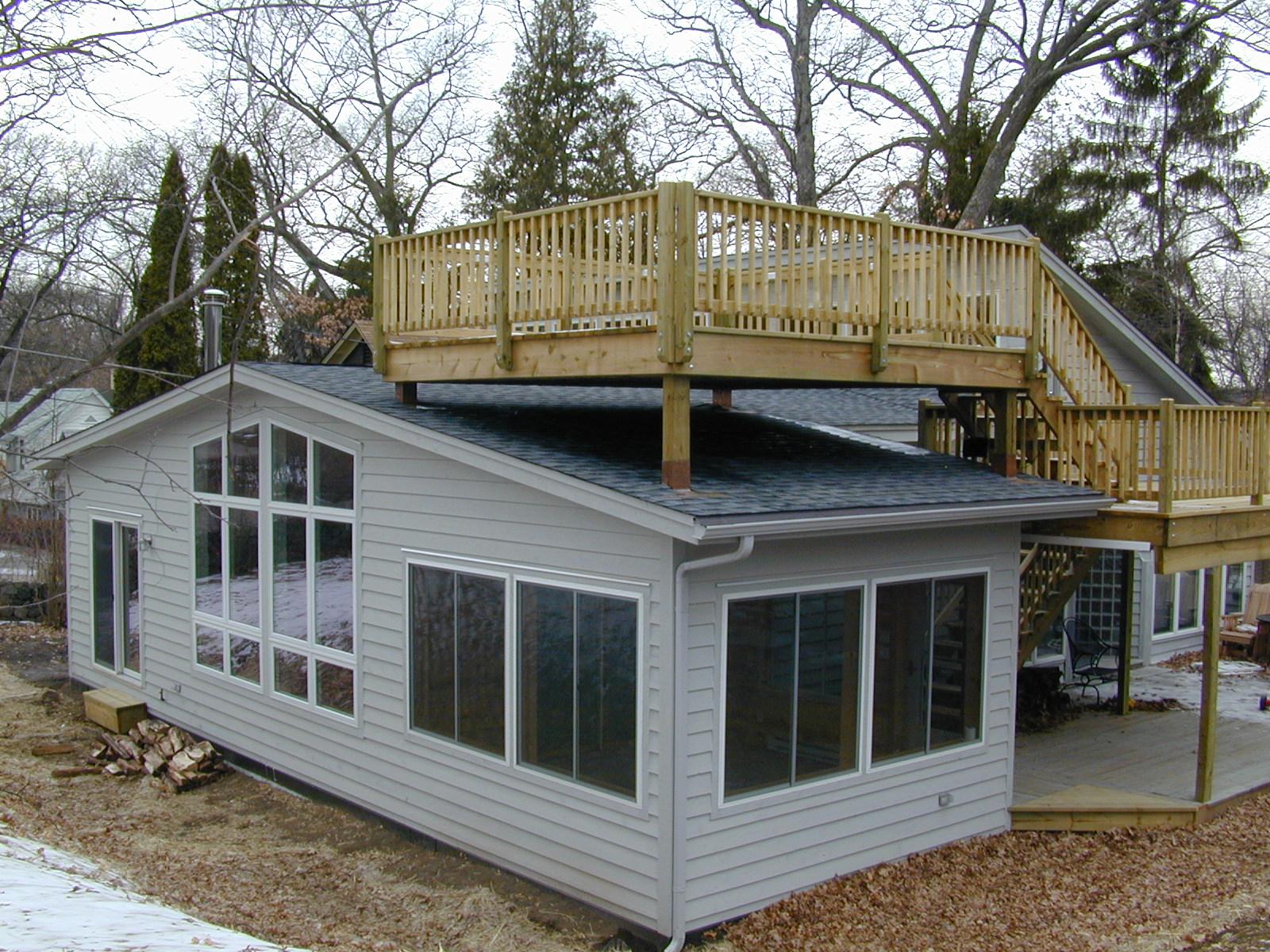Custom Built Deck | Flickr - Photo Sharing!