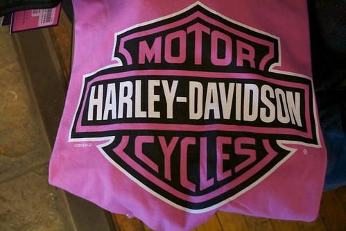 Harley-Davidson Shield Pink
