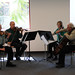 Channel Islands String Quartet performing at the Broome Library, March 2009
