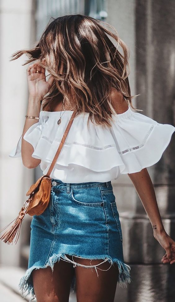 White outfits for summer 2017 street style outfits fashion trend accessories10