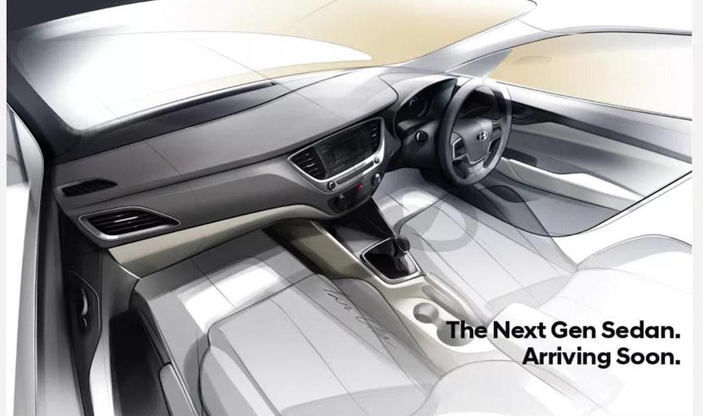 Next gen Hyundai Verna teaser