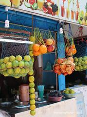 Juice Stall - Street Market - Pondicherry India