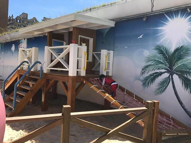 翰品酒店花蓮戶外泳池人造沙灘 (4)