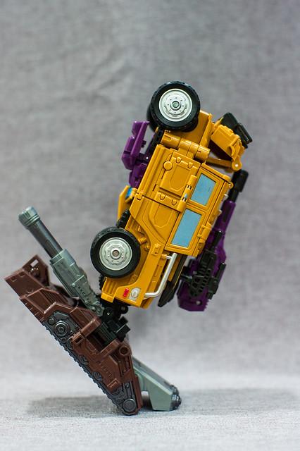 Swindler Combiner Mode 4