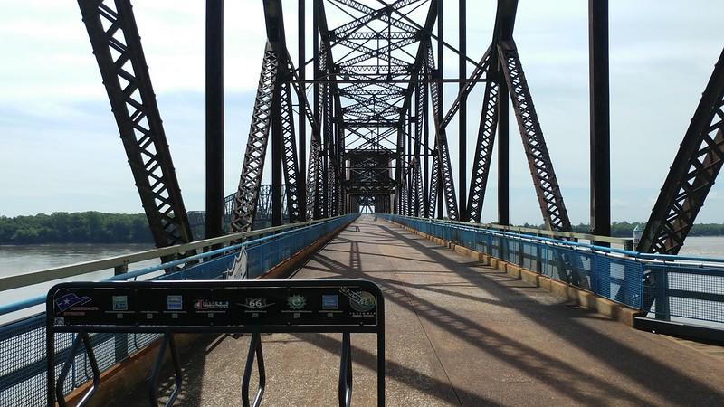 Old Chain of Rocks Bridge, St. Louis, MO