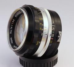 NIKKOR-S 5.8cm f/1.4 lens