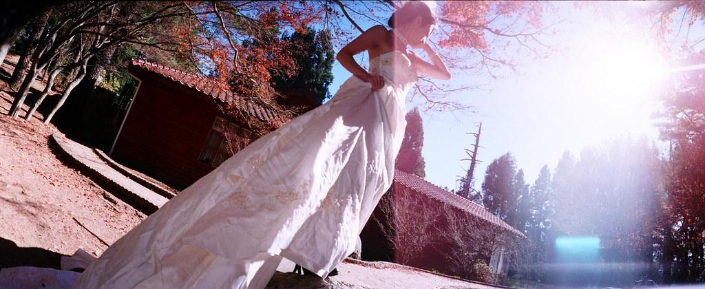 使用Horizon拍攝婚紗