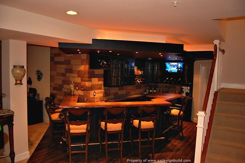 How much does basement remodeling cost cost and price for Cost to build a bar in basement