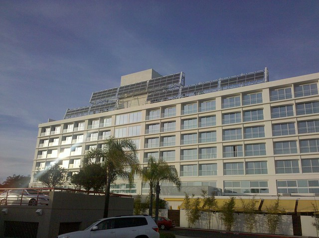 Miyako hybrid hotel with solar panels | Flickr - Photo Sharing!