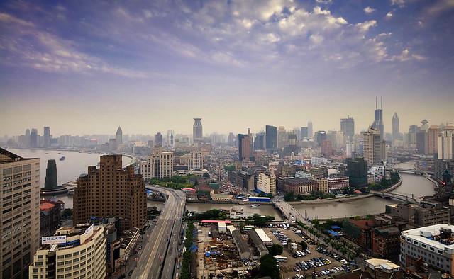 Shanghai - two rivers