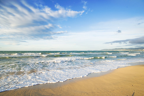 sea sky beach water clouds landscape spain scenery minolta outdoor mallorca konicaminolta playadepalma palmademallorca konicaminolta1735mm