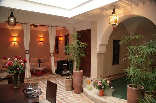 Riad 107 marrakech maroc maison d 39 h te medina marrakech for Chambre d hote marrakech