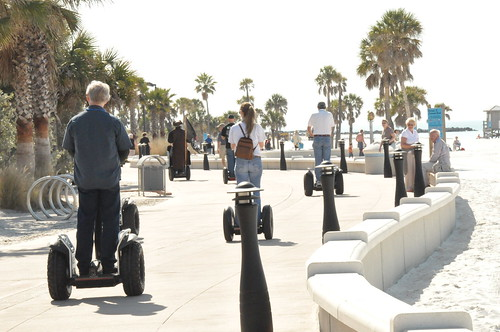 Clearwater Beach Segway Traffic