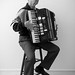 The Accordionist by Mike Cohn