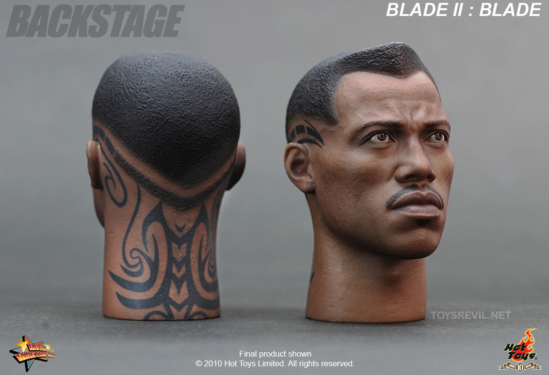 blade 2 featuring wesley snipes in 1 6 by hot toys. Black Bedroom Furniture Sets. Home Design Ideas