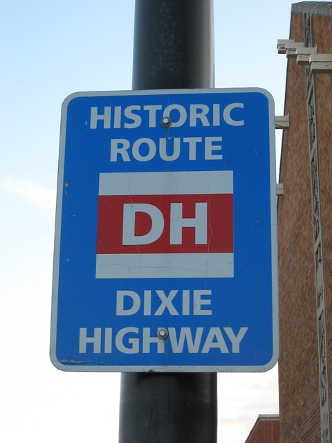 Dixie Highway Historic Route Sign