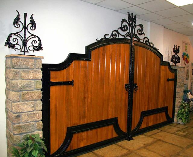 wooden gate design showroom 012 Flickr Photo Sharing