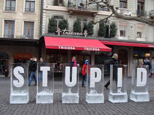 Stupid Ice Letters