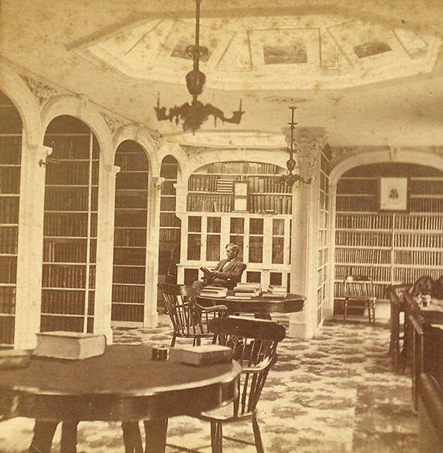Augusta Maine State Library 1860's   Flickr - Photo Sharing!