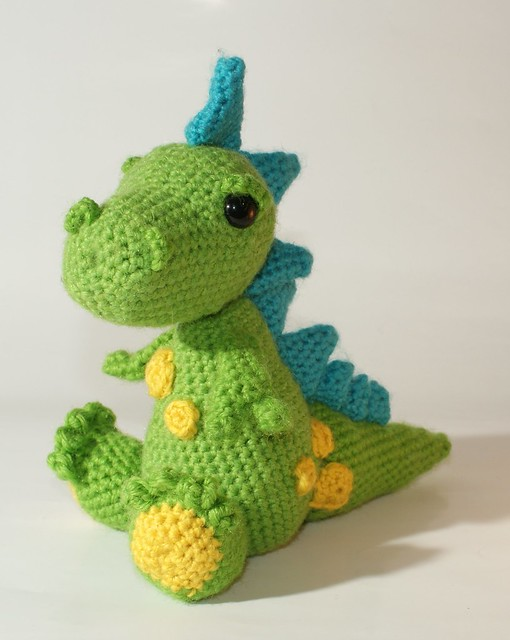Large Amigurumi Pattern Free : Amigurumi dragon Flickr - Photo Sharing!