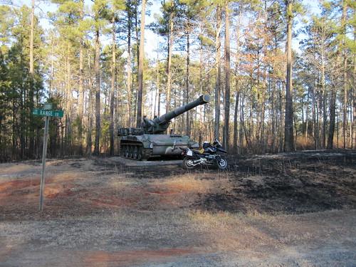 nc military artillery butner r1150gsadventure