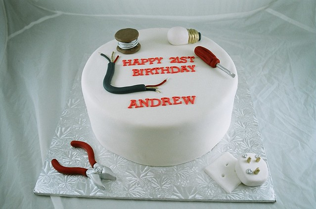 Electrician Cake Designs http://www.flickr.com/photos/toonicetoslice/4397011450/
