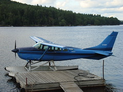 airline, aviation, airplane, propeller driven aircraft, wing, vehicle, cessna 206, seaplane,
