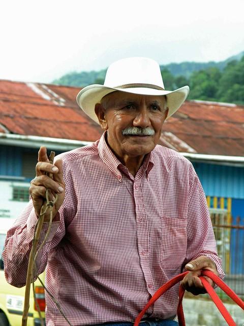 Older cowboy - Vaquero; Boquete, Panamá