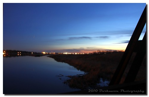 sunset oklahoma reflections twilight availablelight gimp lakeoverholser northcanadianriver