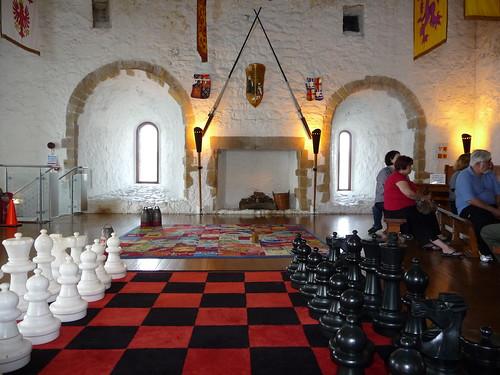 Interior of Carrickgergus Castle