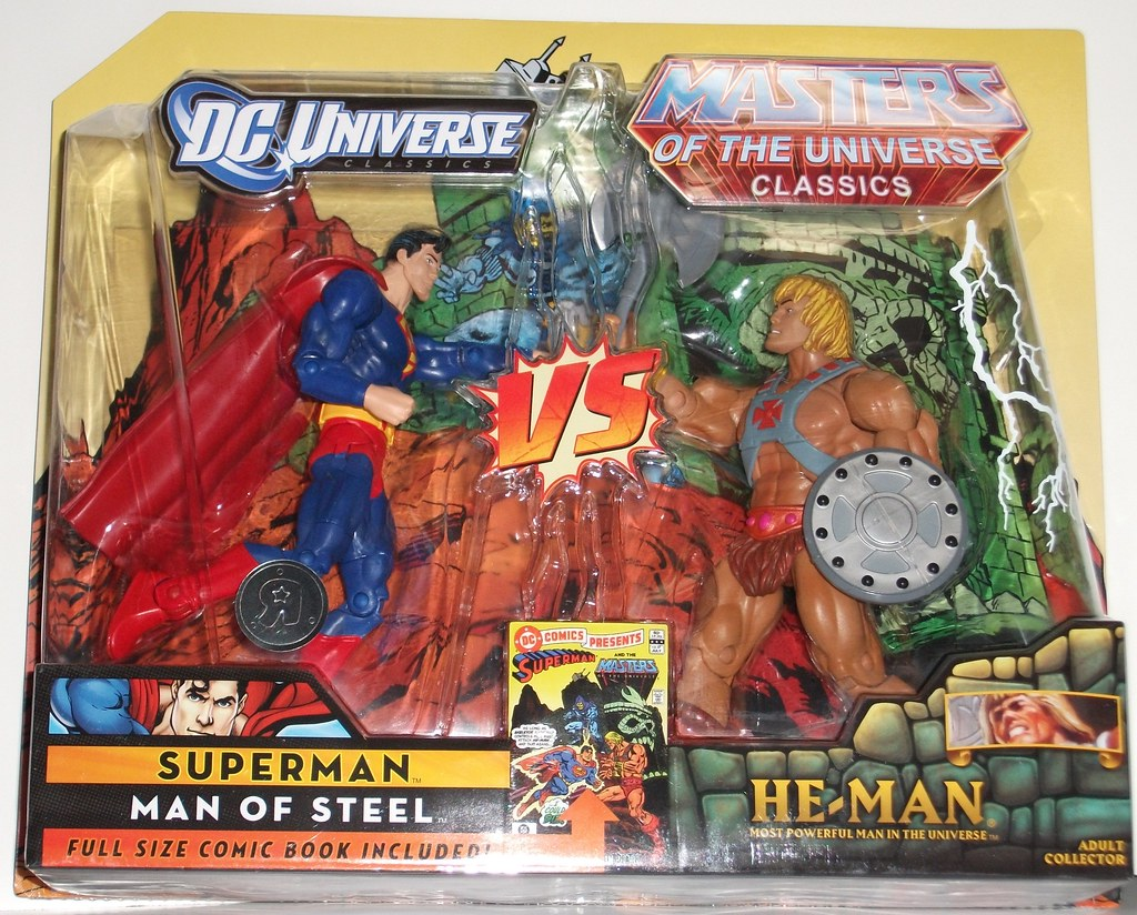 He-Man/Superman 2 Pack Review | Infinite Hollywood