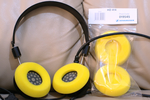 Grado with HD414 pads