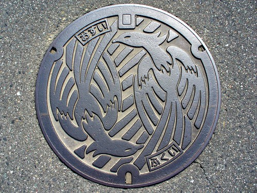 Fukui city manhole cover(福井県福井市のマンホール)