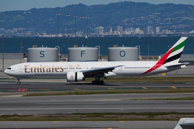 A6-ECO - B77W - Emirates