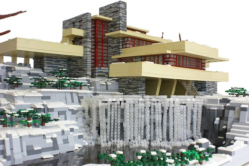 Fallingwater a lego creation by matija grguric - Lego falling waters ...