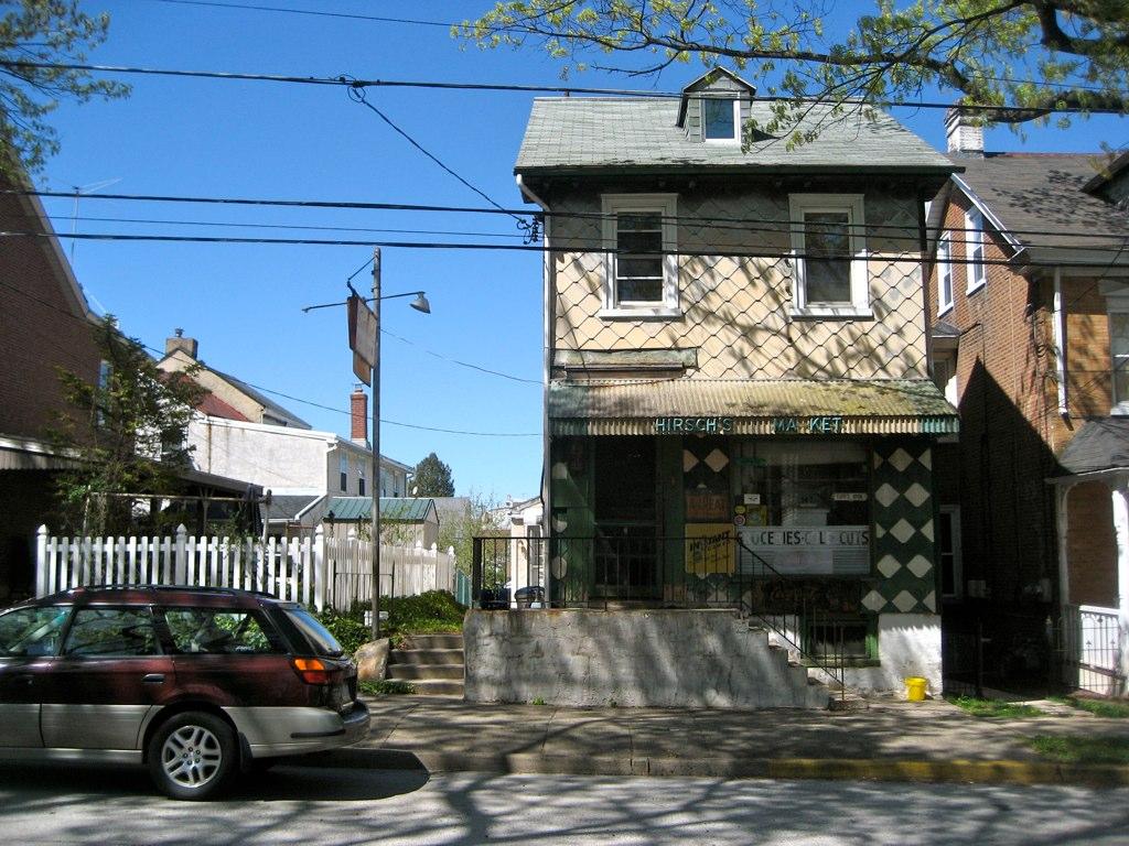 Hirsch's Market Washington Street