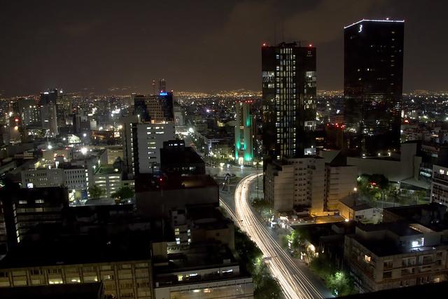 Zxxz Mexico City Night Skyl...