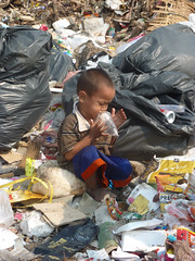 child, litter, waste,